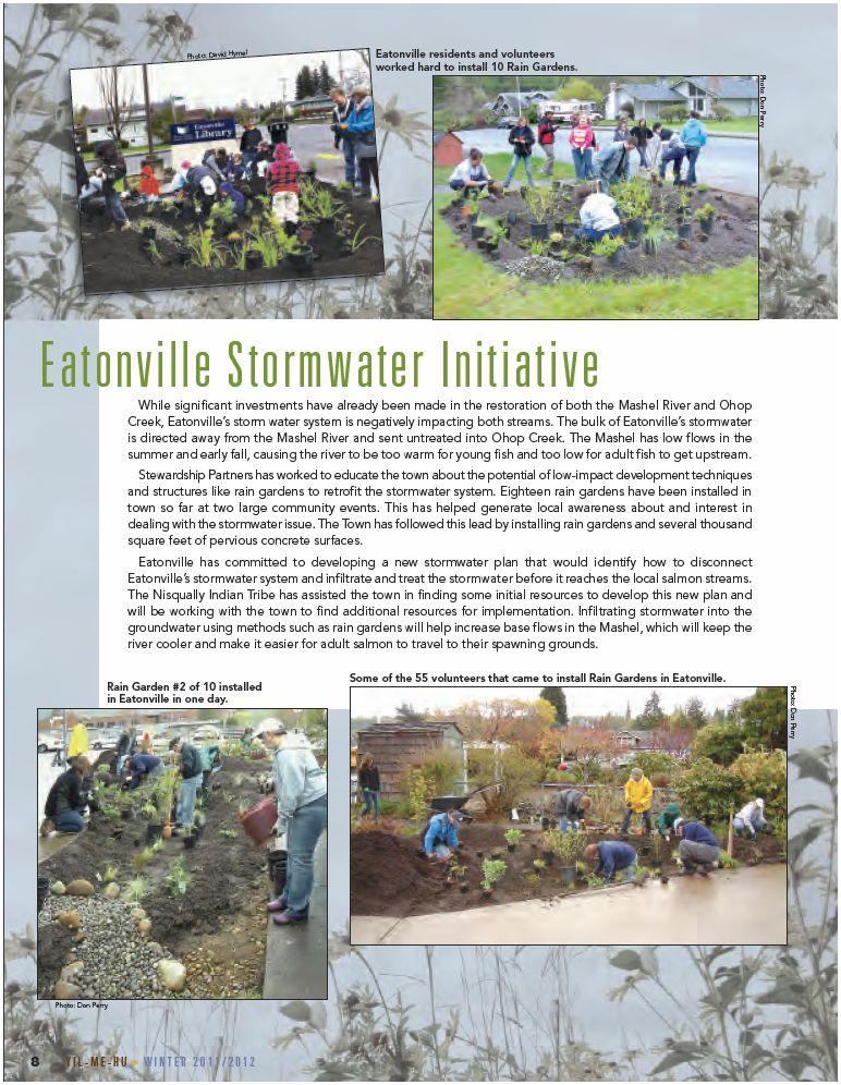 Eatonville Stormwater Initiative - Yil Me Hu
